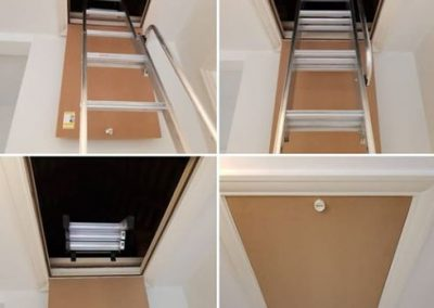 Sliding Loft Ladder